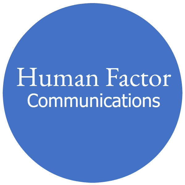 Human Factor Communications Logo